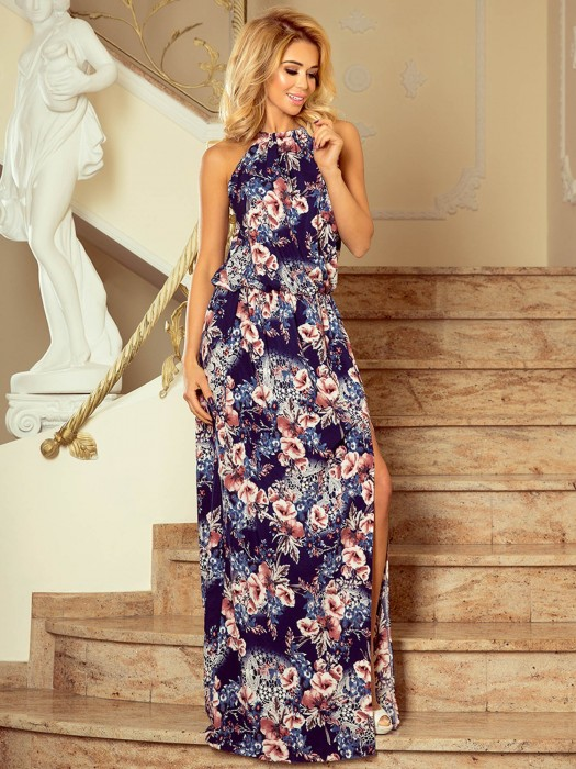Damen MAXI Kleid 191-2 Tropical