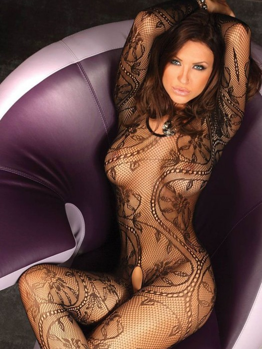 Bodystocking ABRA Schwarz