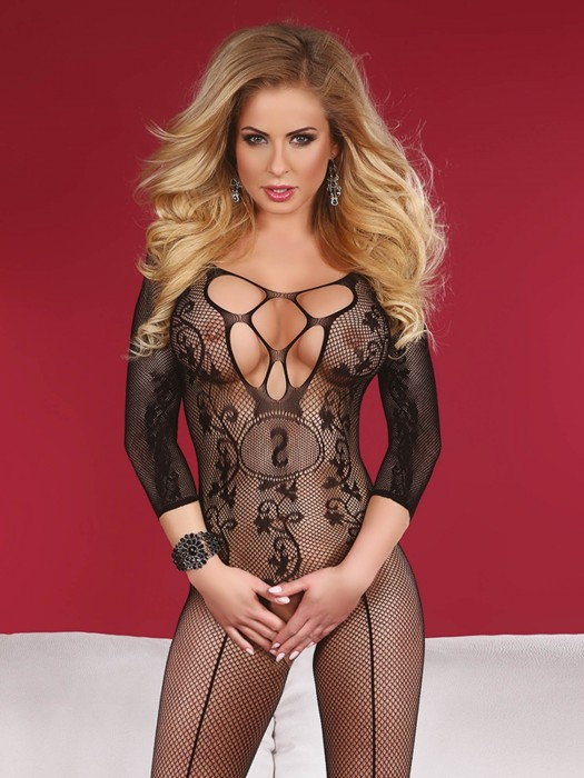 Bodystocking Amani schwarz