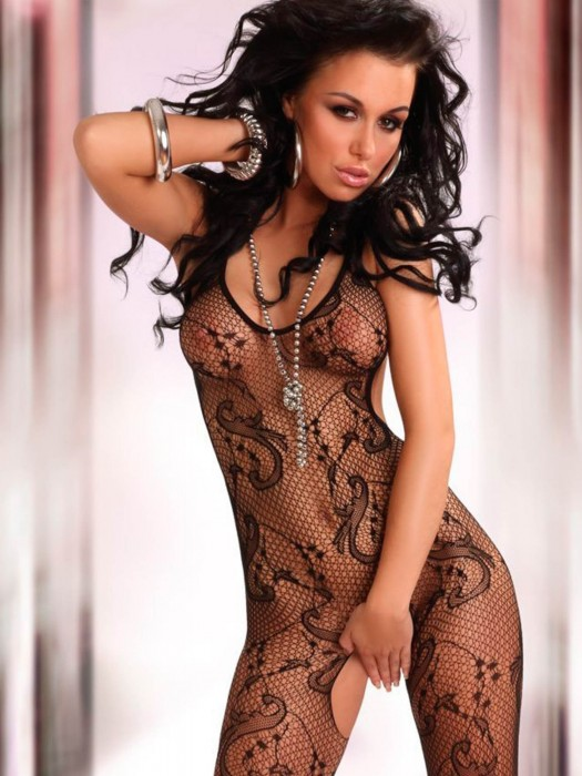 Bodystocking Eden Black