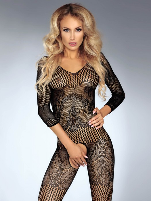 Damen Bodystocking Kinsley schwarz