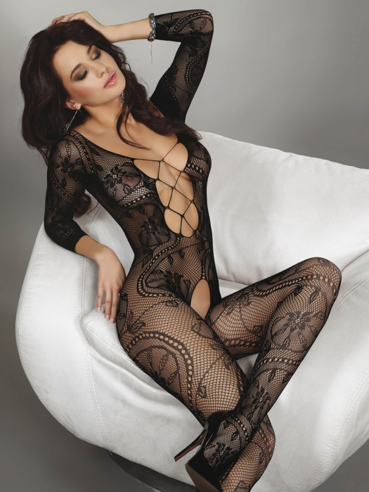 Bodystocking Zita schwarz