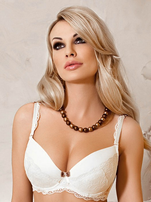 Bra ROZA Fifi Weiss Push-up