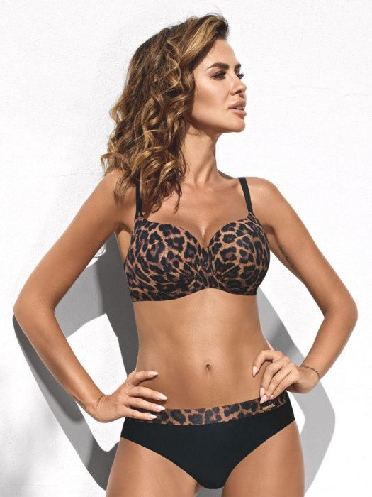 Damen Bikini 234 Esther-D 06/A Leopard
