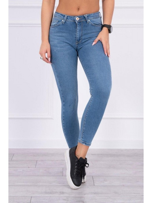 Damen Push Up Jeans blau