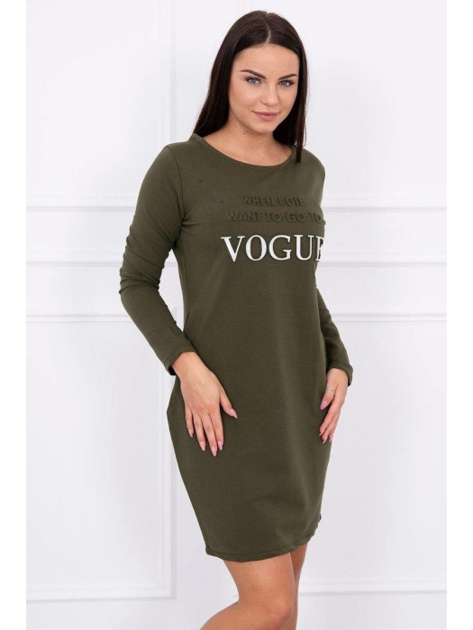 Frauen Sport-Kleid VOGUE khaki