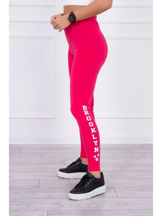 Damen Sport Leggings BROOKLYN zyklamenrosa