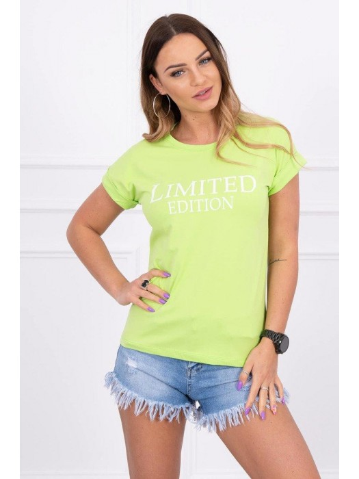 Damen T-Shirt LIMITED EDITION grün 65296
