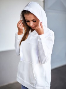 Damen Sweatshirt mit Kapuze VS-Viki cream