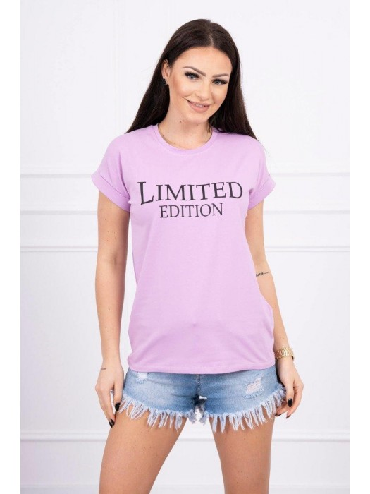 Damen T-Shirt LIMITED EDITION 65296 lila