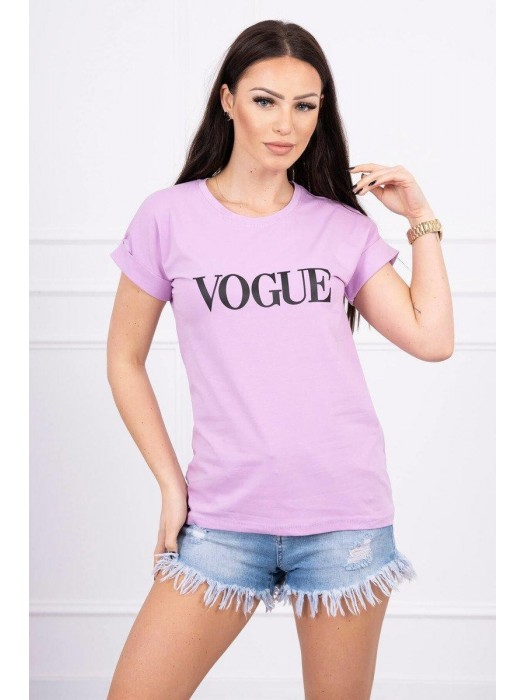 Damen T-Shirt VOGUE 65295 lila