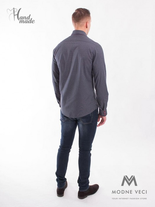 Herren-Hemd Slim-Fit-Stil - VS-PK-1705