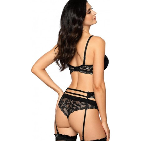 Damen PUSH-UP BH Roža LaGerta schwarz
