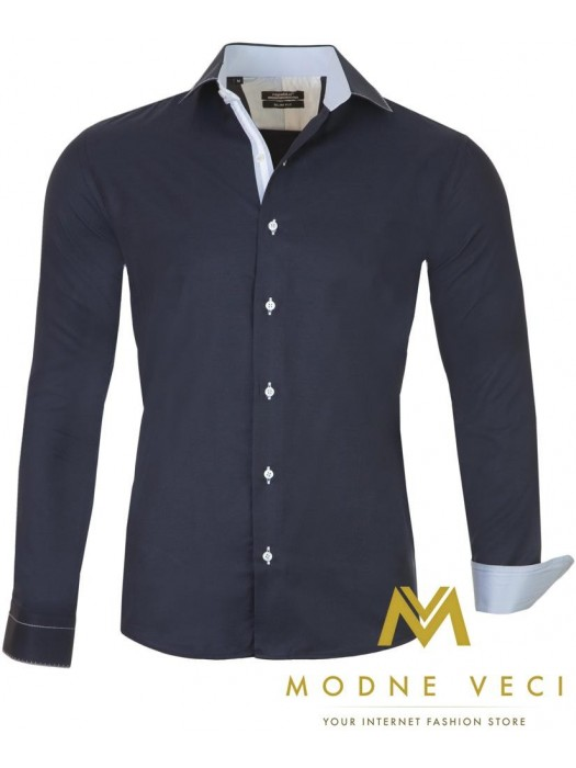 Luxus-Herrenhemd SLIM FIT CUT 1451-2