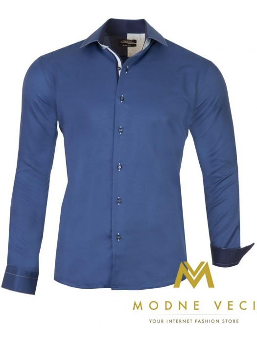Luxus-Herrenhemd SLIM FIT CUT 1451-4