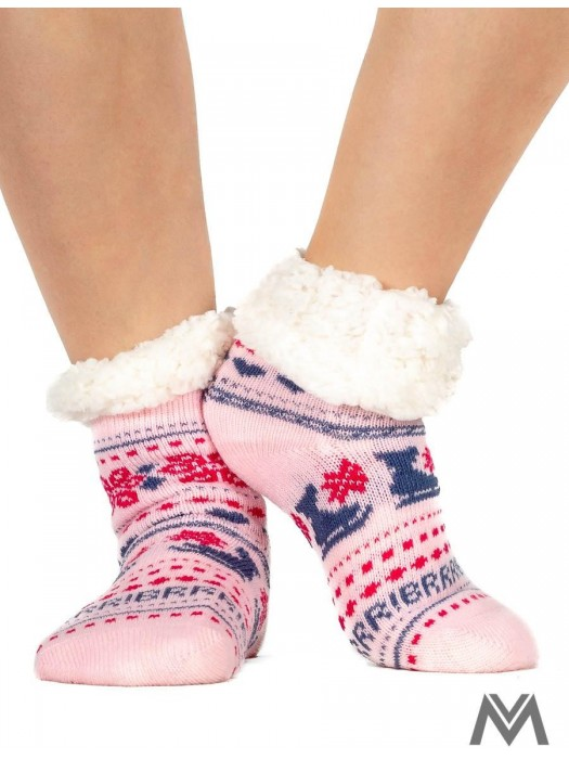 Kinder Thermo Socken hellrosa