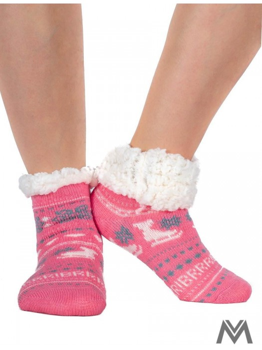 Kinder Thermo Socken lachsrosa
