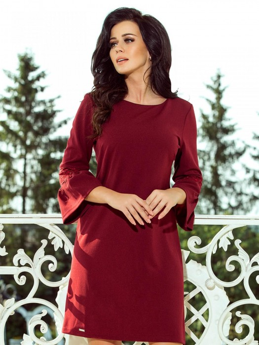Damen Kleid Margaret 190-8 bordo