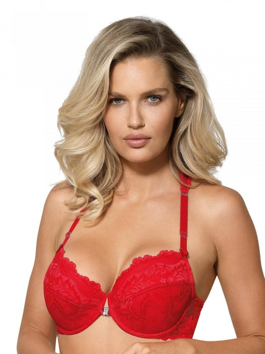 Damen BH Roža Sefia push-up rot