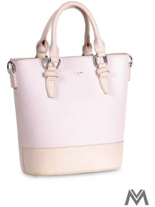 Damen Handtasche David Jones CM3857 pearl