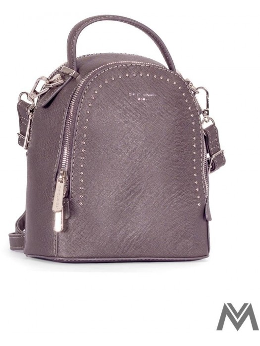 Damen Rucksack David Jones 5806-2 dunkelgrau